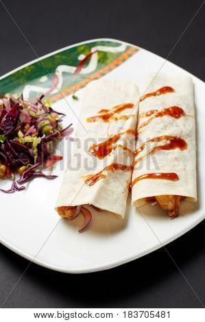 Fajita. Mexican Food. Mexican Cuisine.