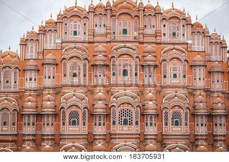 Hawa Mahal (wind Palace) In Jaipur, India