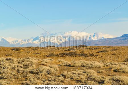 Patagonia Landscape Santa Cruz Argentina