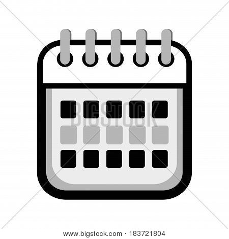 calendar date remember business events, vector illustration