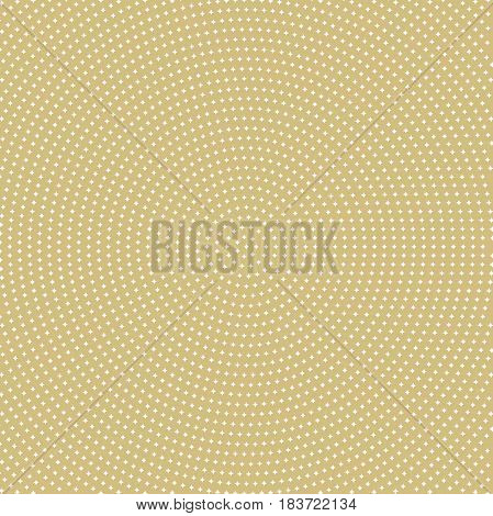 Geometric modern vector pattern. Fine ornament with white stars. Geometric abstract pattern
