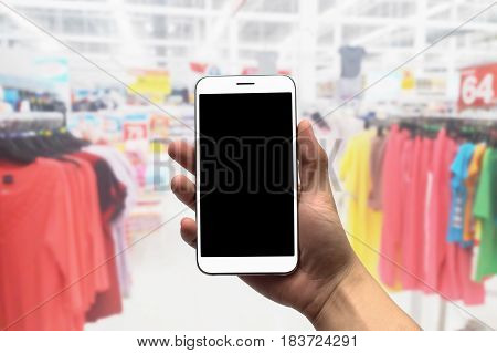 Blurred photo, Blurry image, Clothes shop, background