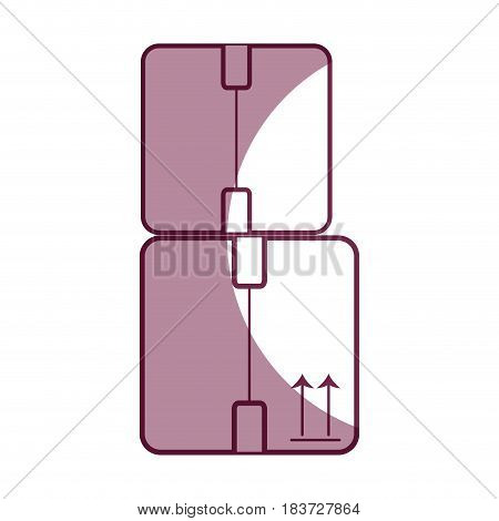 boxes packages delivery service, vector illustration image
