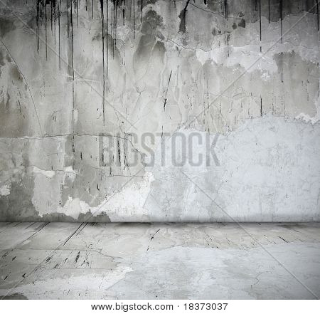 simple grey interior