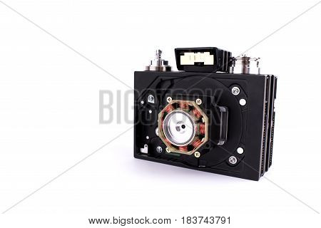 Camera In Steampunk Style Made By Hand From Different Parts And Accessory, Set