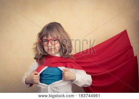 Young Businessman Superhero