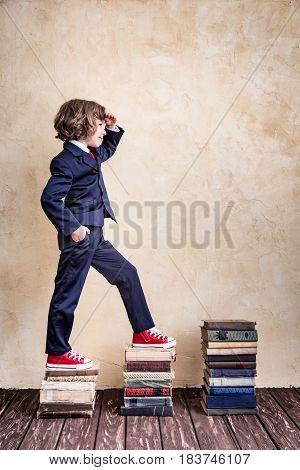 Schoolchild In Class