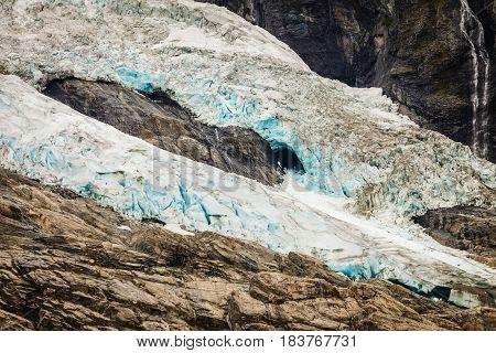 Boyabreen Glacier In Norway