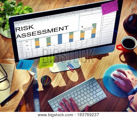 Risk Assessment Graph Chart Spreadsheet Table Word