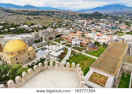 View On Rabati Castle From Citadel In Akhaltsikhe, Georgia