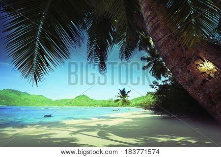 beach Anse Takamaka, Seychelles