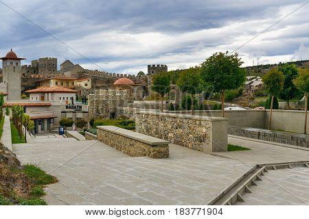 View Of Rabati Castle In Akhaltsikhe, Georgia