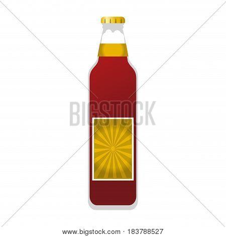 beer bottle icon image vector illustration design