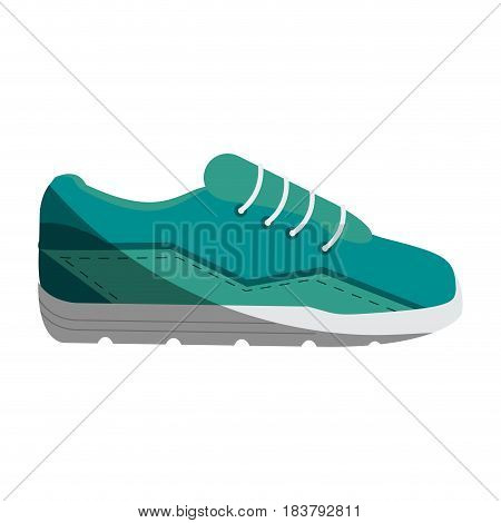 sport sneakers icon image vector illustration design