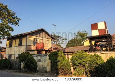 Old Houses In Pyin Oo Lwin, Myanmar