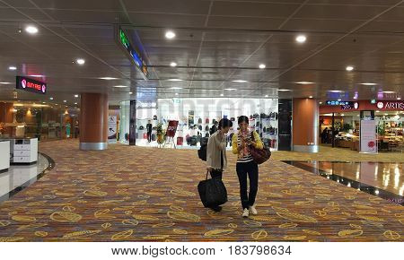 Yangon International Airport In Myanmar