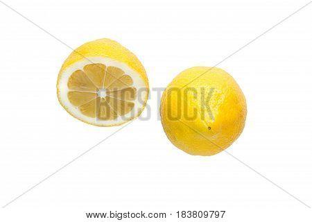 Lemon Isolated On A White Background