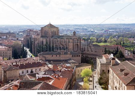Iglesias de San Esteban and cityscape, Salamanca