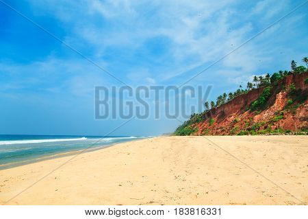 The Coast Of The Indian Ocean.