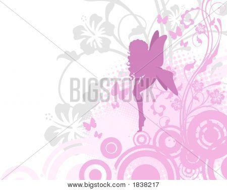 Fee In Pink Garden