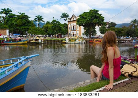 Colorful Boats Paraty