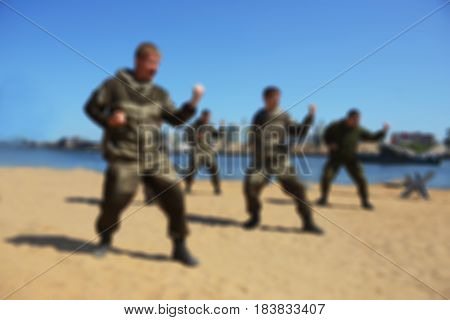 Blur River Beach- Special Forces