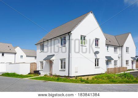 Modern english family houses