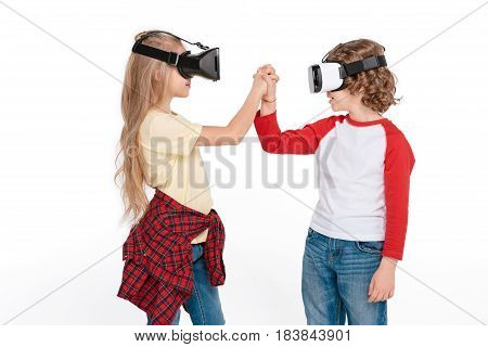 Friends In Virtual Reality Headsets