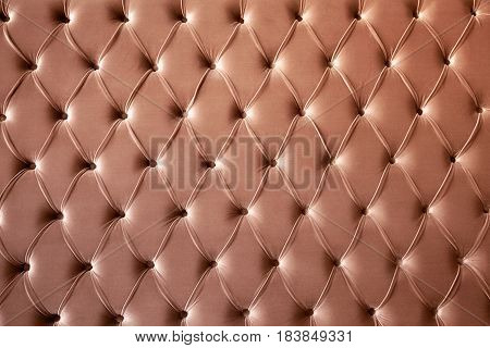 The oriental style upholstered furniture texture background
