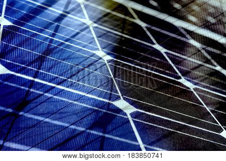 Abstract glass background, Solar energy spectrum with grid lines