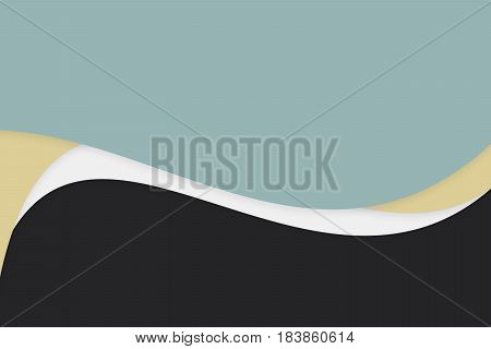 elegant abstract shape presentation with copy space