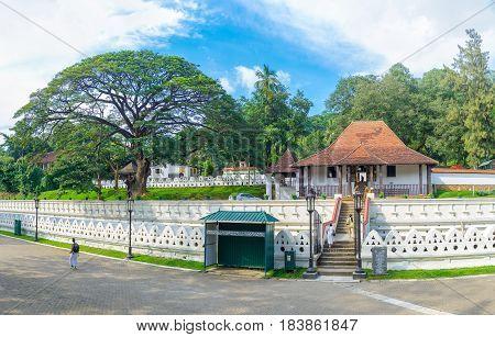 Panoram Of Vishnu Temple