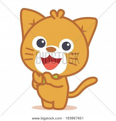 Vector art of cat character collection stock