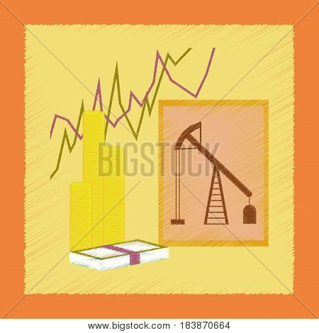 flat shading style icon school lesson economy
