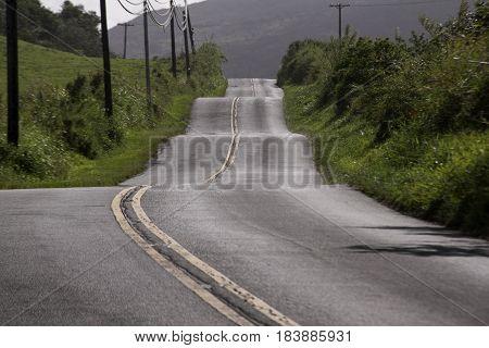 Hana Highway, winding road, Maui, Hawaii, USA