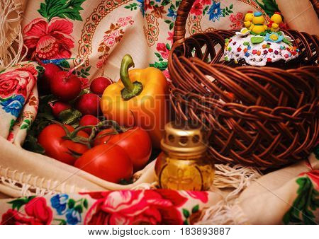 Easter food Easter food. Preparation for Easter. Food for the Easter holiday.