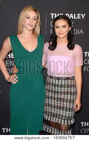 LOS ANGELES - APR 27:  Lili Reinhart, Camila Mendes at the