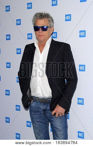 LOS ANGELES - APR 26:  David Foster at the We Day California 2017 Cocktail Reception at the NeueHouse Hollywood on April 26, 2017 in Los Angeles, CA