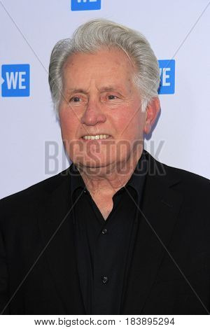 LOS ANGELES - APR 26:  Martin Sheen at the We Day California 2017 Cocktail Reception at the NeueHouse Hollywood on April 26, 2017 in Los Angeles, CA