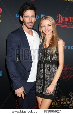 LOS ANGELES - APR 26:  Brandon Beemer, Olivia Keegan at the NATAS Daytime Emmy Nominees Reception at the Hollywood Museum on April 26, 2017 in Los Angeles, CA