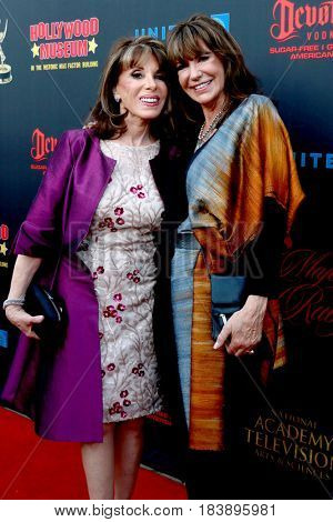 LOS ANGELES - APR 26:  Kate Linder, Jess Walton at the NATAS Daytime Emmy Nominees Reception at the Hollywood Museum on April 26, 2017 in Los Angeles, CA