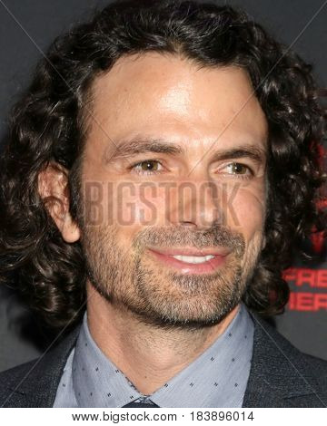 LOS ANGELES - APR 26:  Daniel Hall at the NATAS Daytime Emmy Nominees Reception at the Hollywood Museum on April 26, 2017 in Los Angeles, CA