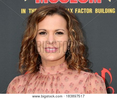LOS ANGELES - APR 26:  Melissa Claire Egan at the NATAS Daytime Emmy Nominees Reception at the Hollywood Museum on April 26, 2017 in Los Angeles, CA