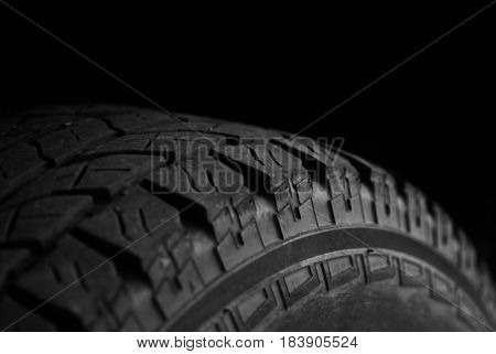 Vehicle tire for car or truck good tread for safety