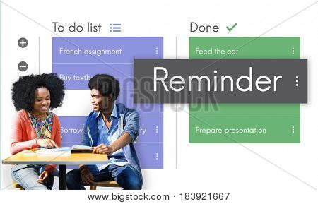 Digital To do List App Interface