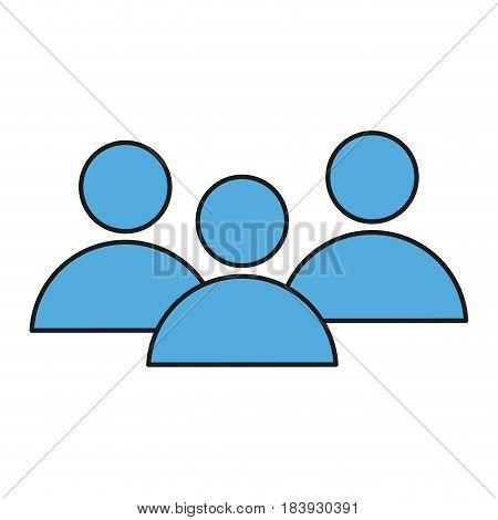 avatar community people group social media vector illustration