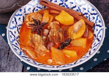 Thai Massaman Curry Paste Recipe.