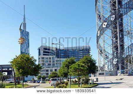 Cityscape Of Batumi. Georgia