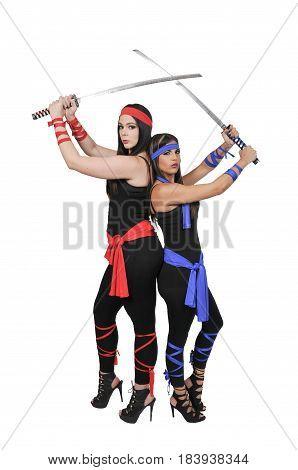 Women Samurai Swordsmen