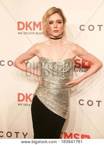 NEW YORK-APR 27: Model Coco Rocha attends the 11th Annual DKMS 'Big Love' Gala at Cipriani Wall Street on April 27, 2017 in New York City.
